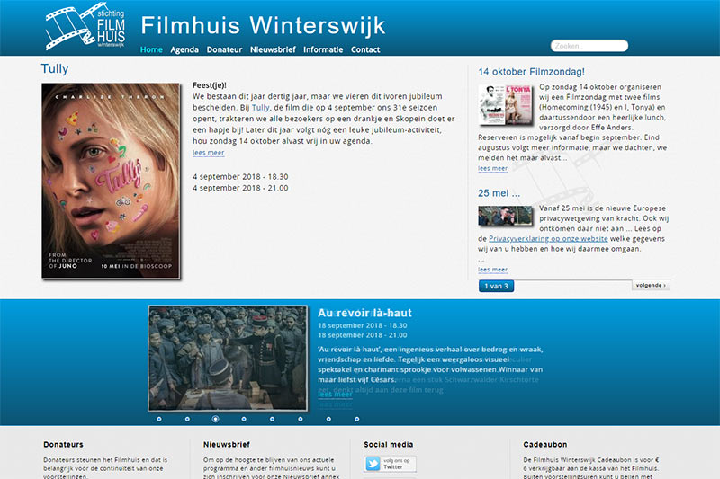 screenshot website filmhuis winterswijk