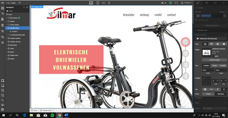 design venster webflow