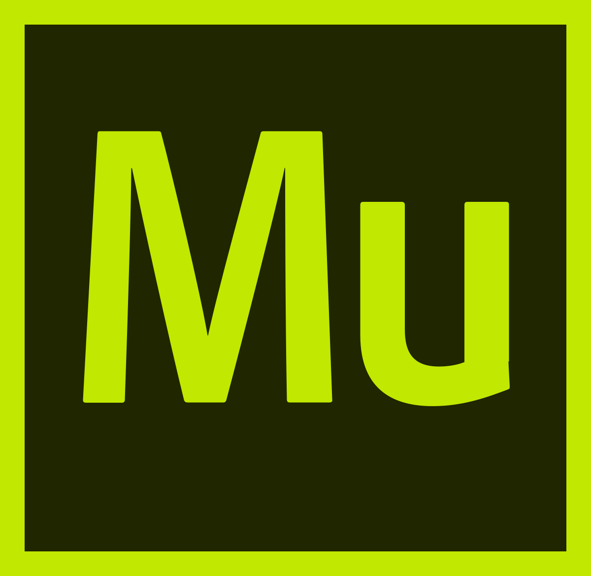 adobe muse cc icon