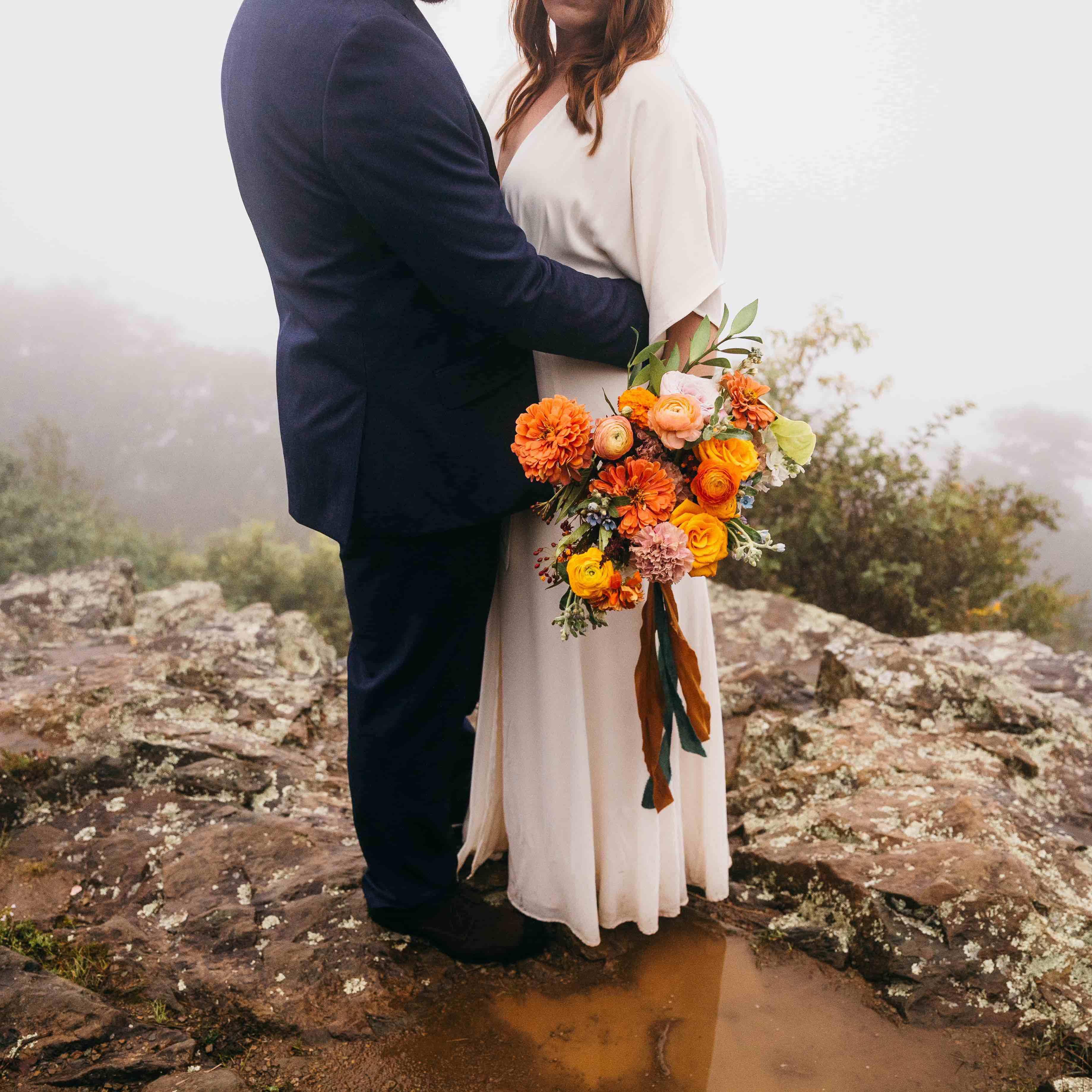 Micro-Wedding: Stephanie + Zach