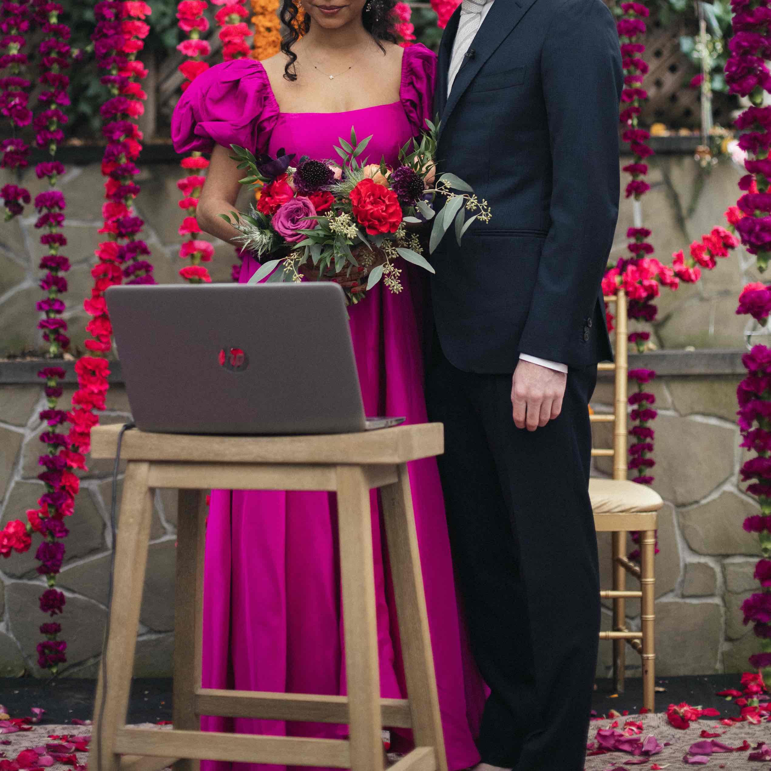 Micro-Wedding: Anuja + Rob
