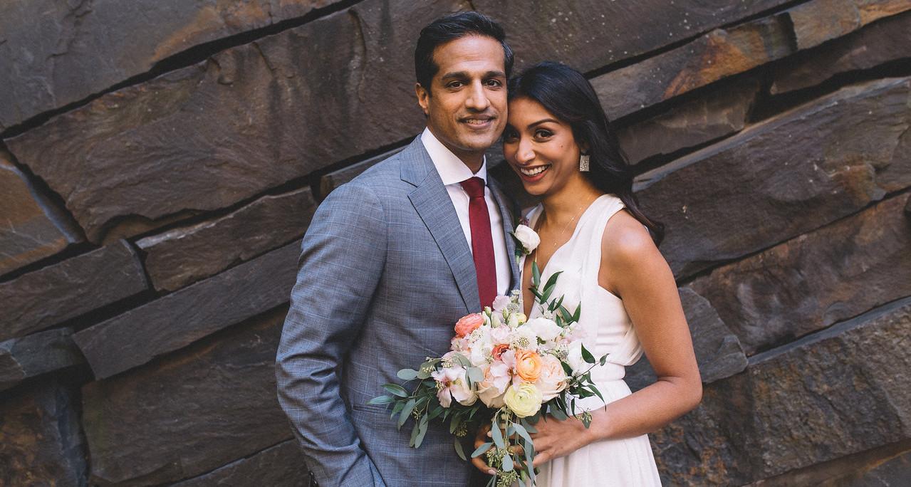 Micro-Wedding: Amita + Nitin