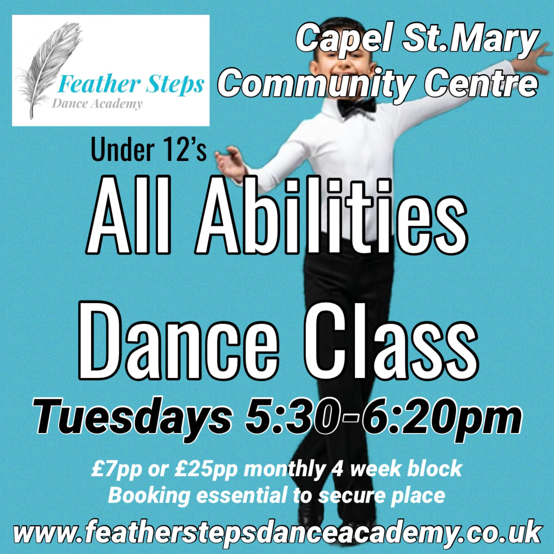 All Abilities Dance Class: Under 12's