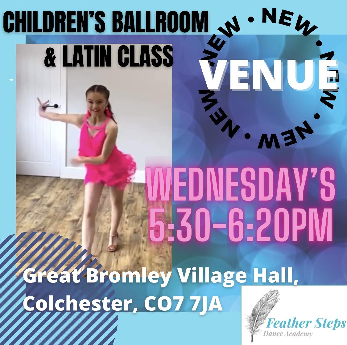 Children Ballroom & Latin Class