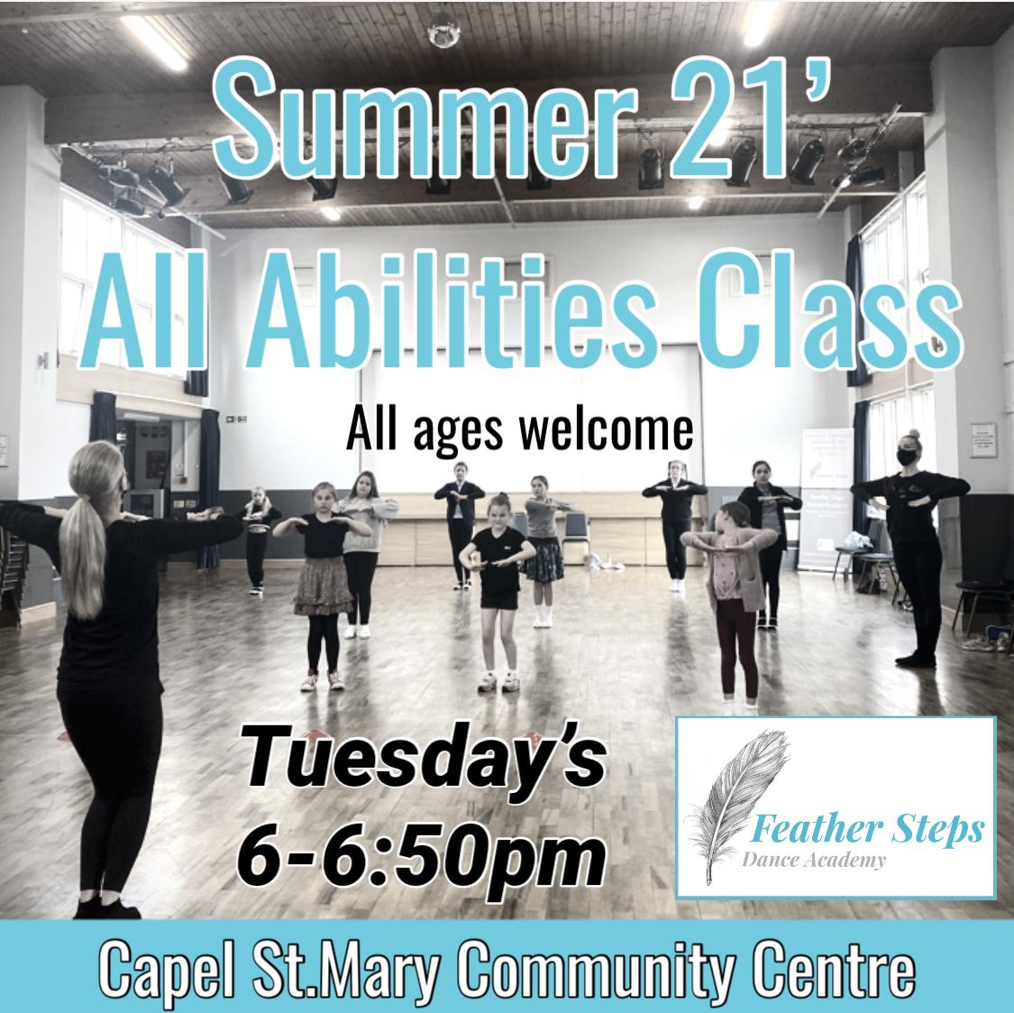 Summer 21' All Abilities Class