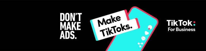 Don't Make Ads Make TikToks Spaceback Social Display Ads