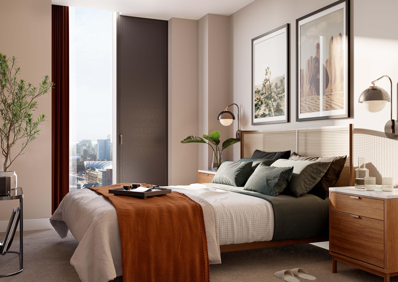 apartment cgi bedroom