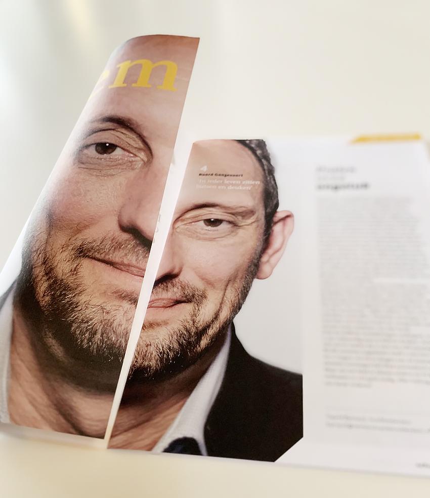 AdRem, het tijdschrift van de Remonstranten, met nieuwe cover.