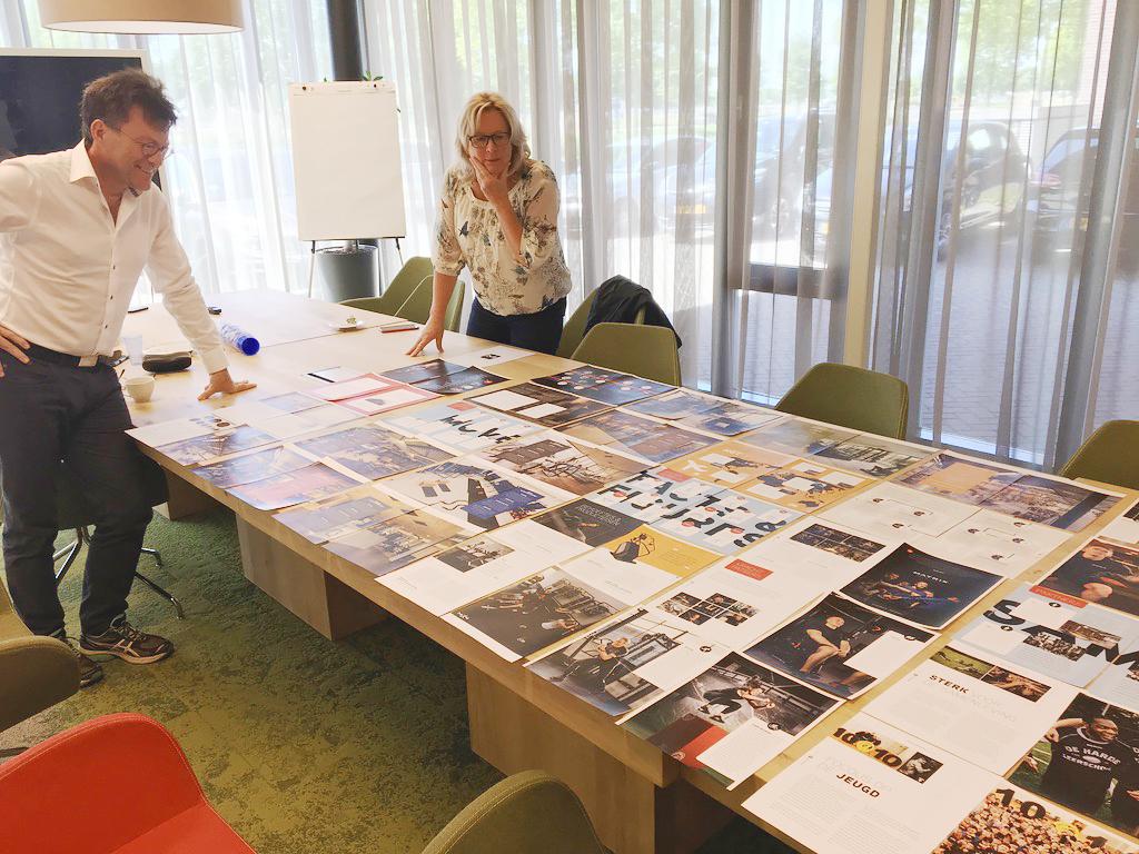 Bespreking ontwerp bij Matrix
