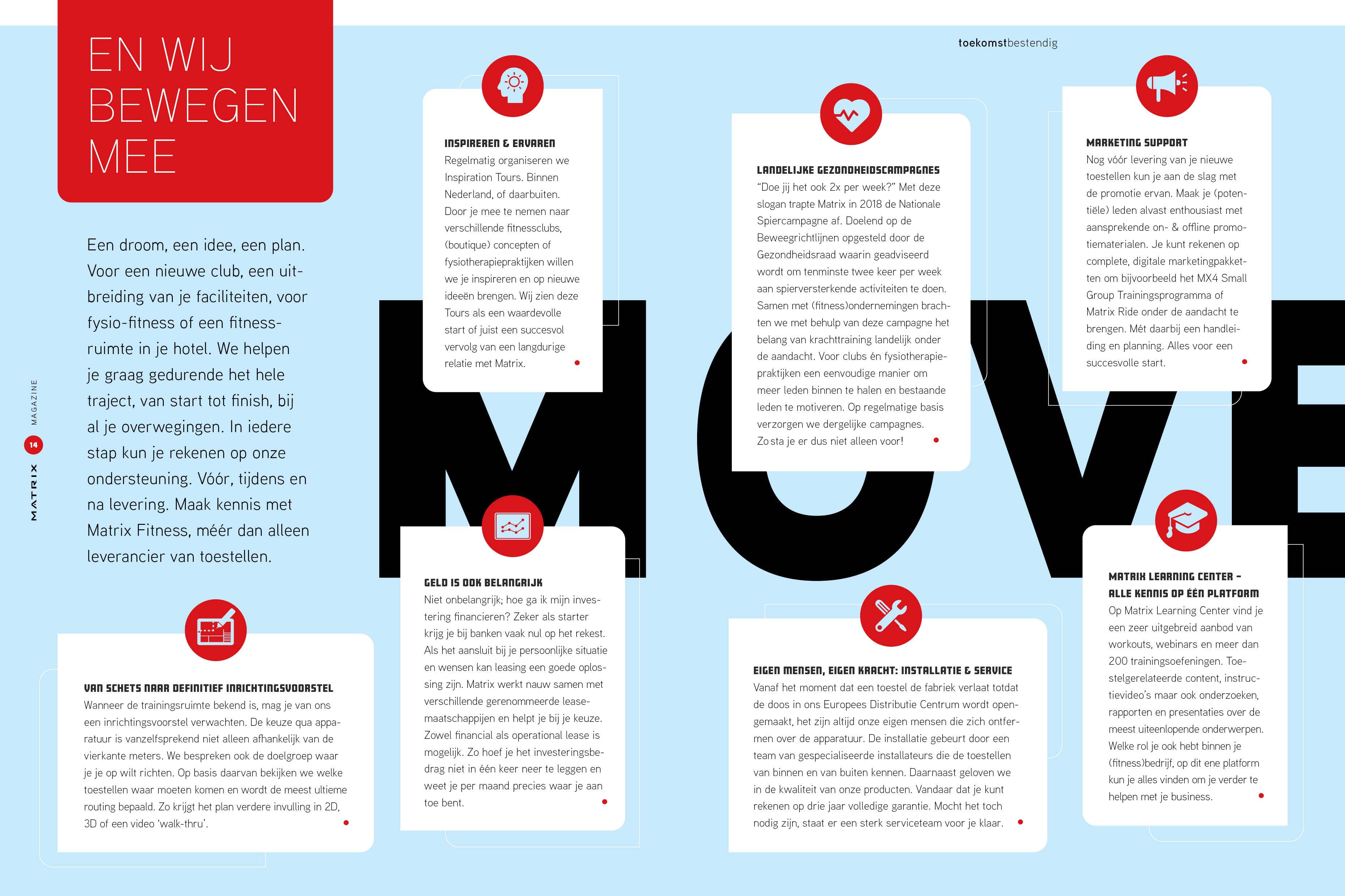 Matrix Magazine Spread