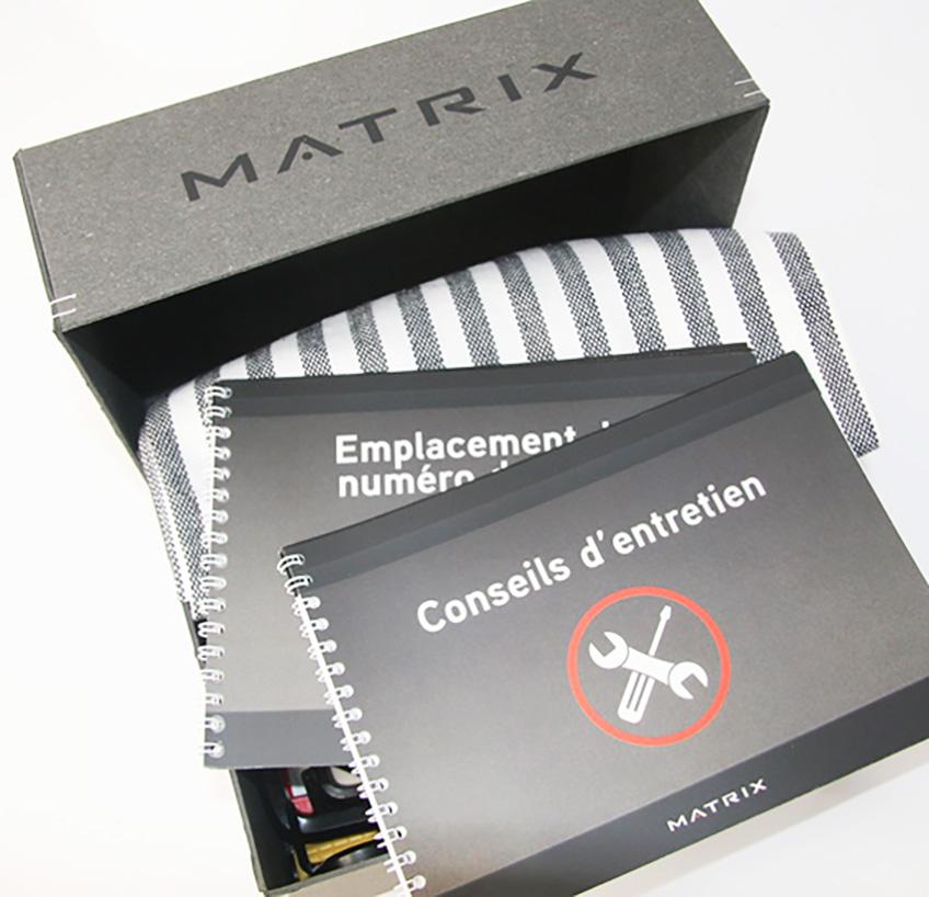 Ook de instructieboekjes zijn door Ontwerpkantoor ontworpen
