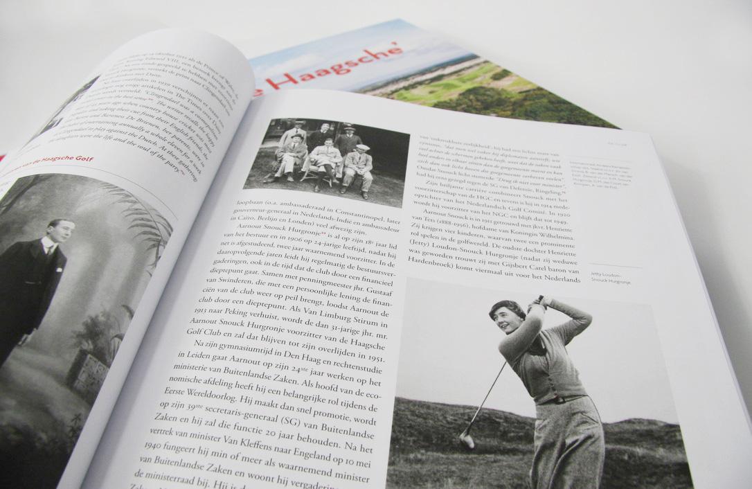 Geschiedenispagina's van het boek 'De Haagsche'