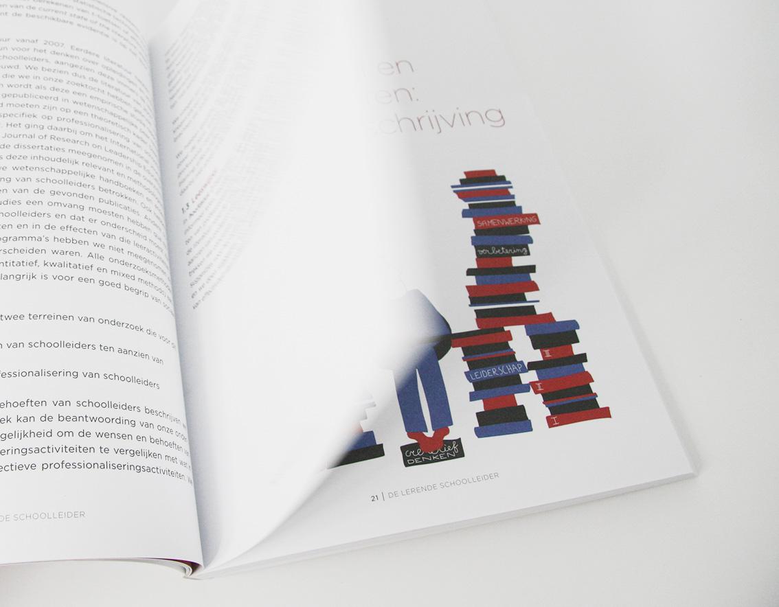 Illustratie in het boek 'De Lerende Schoolleider'