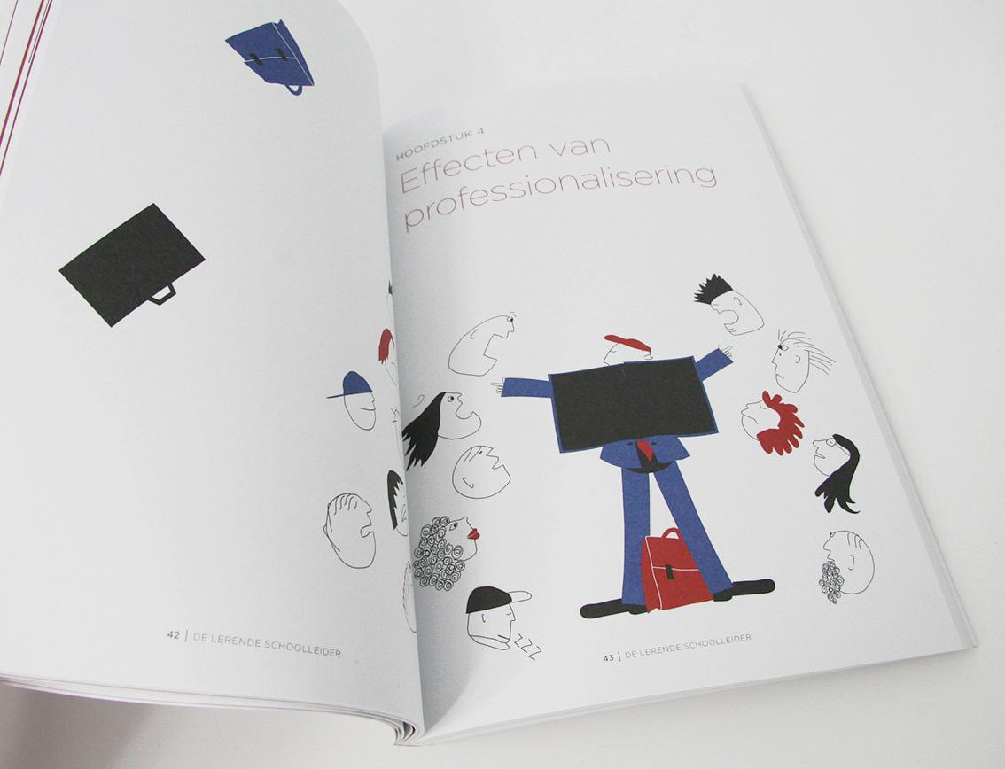 'De Lerende Schoolleider' illustratie bij hoofdstuk 4
