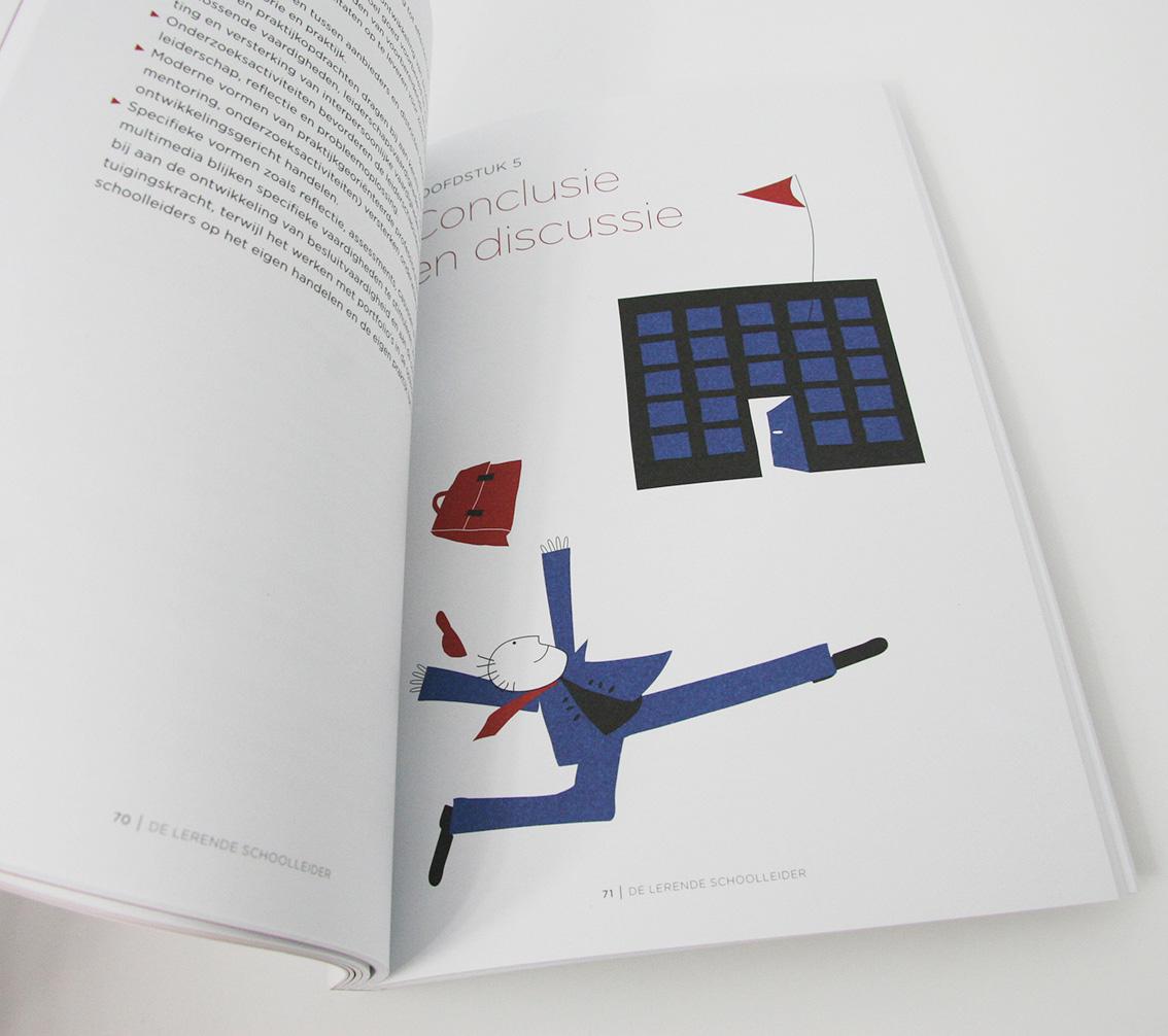 'De Lerende Schoolleider' illustratie bij hoofdstuk