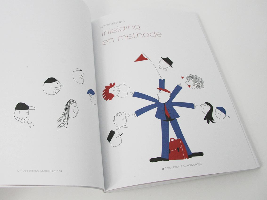'De Lerende Schoolleider' illustratie bij hoofdstuk 1
