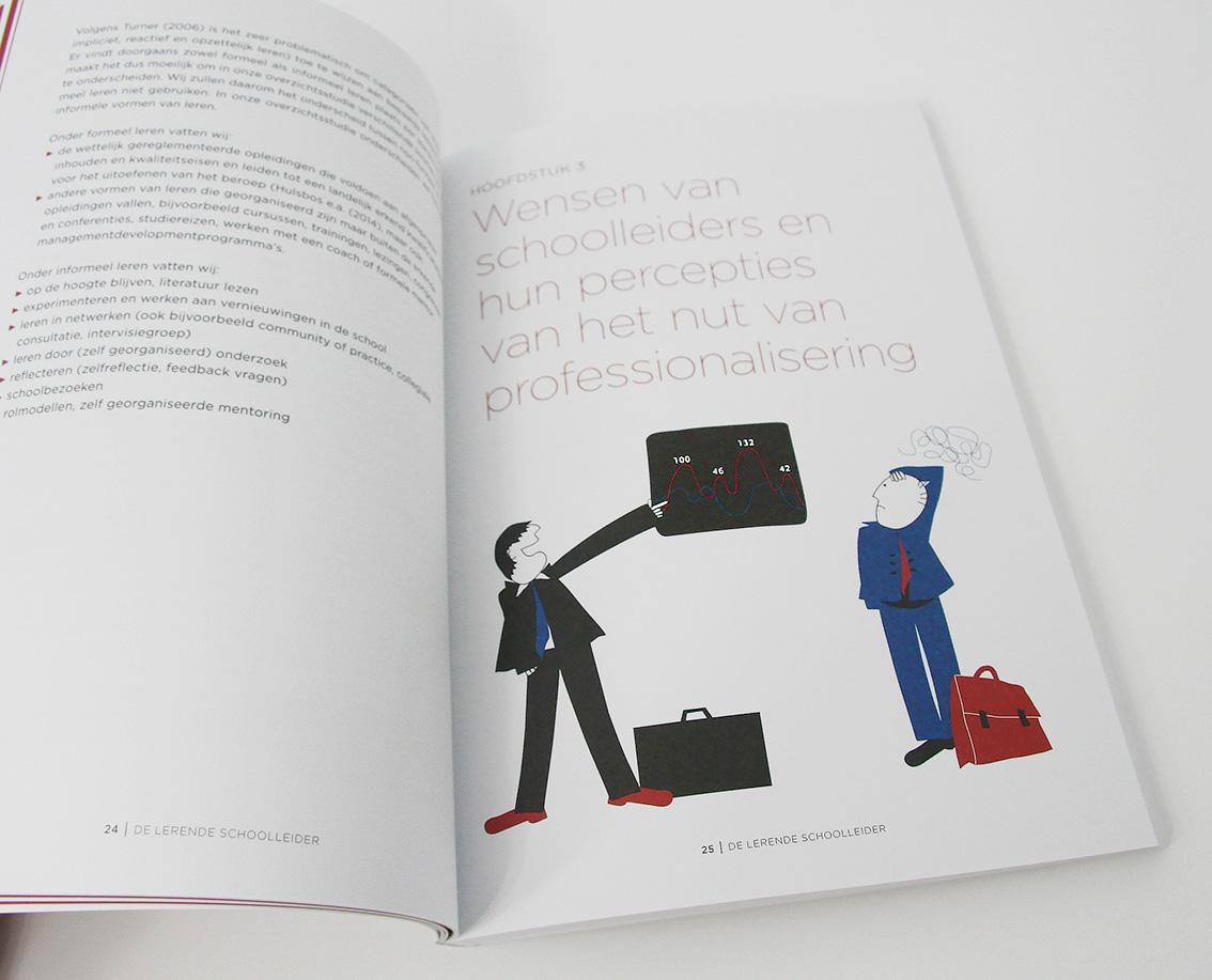 'De Lerende Schoolleider' illustratie bij hoofdstuk 3