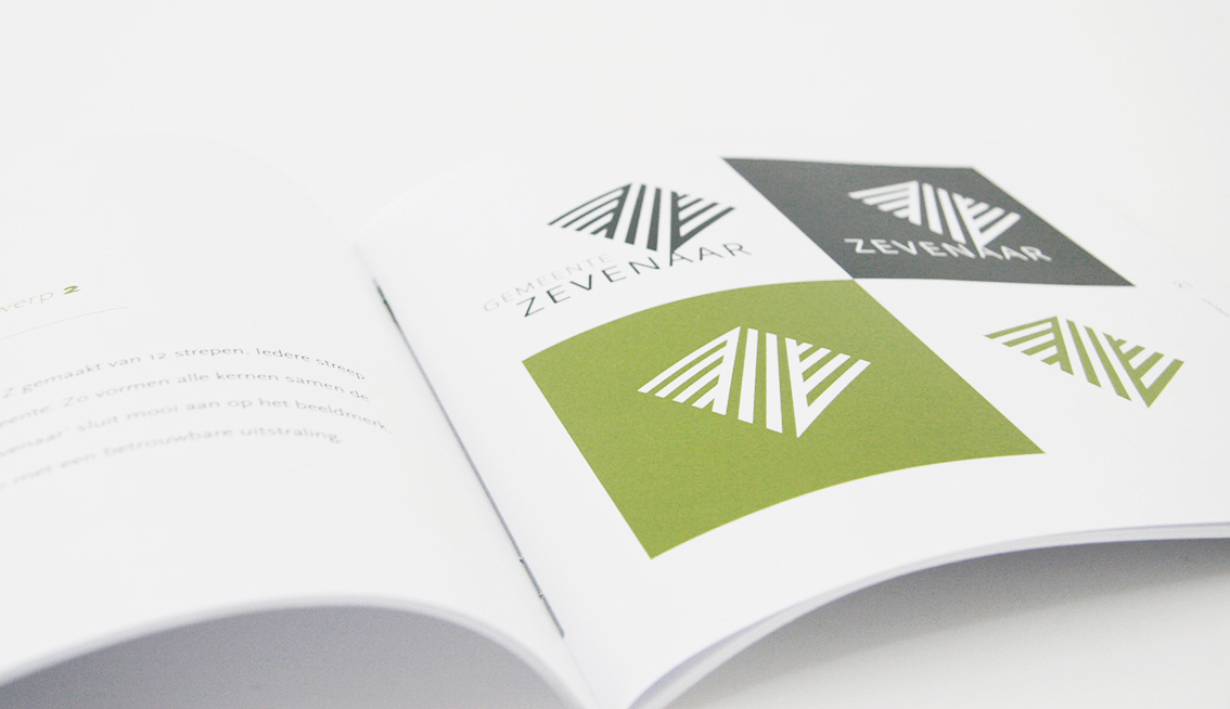 Ontwerp voorstel gepresenteerd in boekje