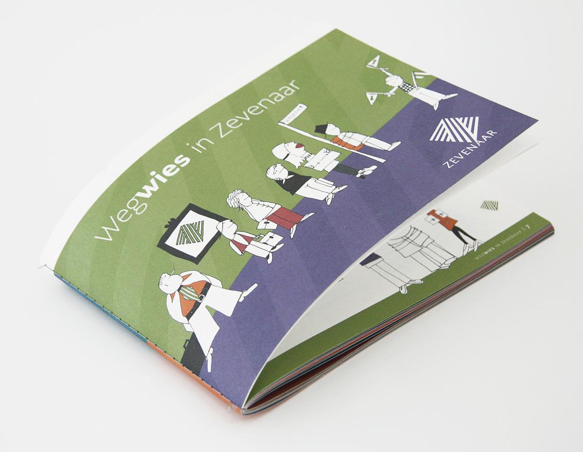 Wegwies - interne publicatie - coverillustratie