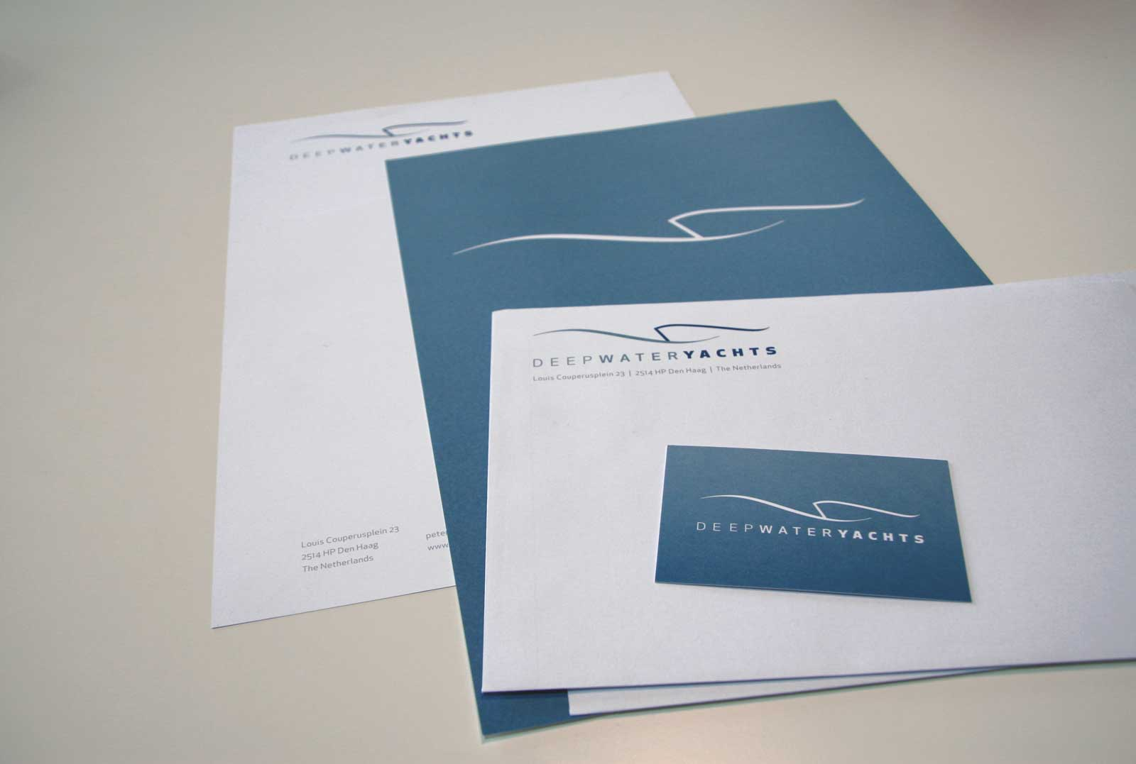 Deep Water Yachts Stationery