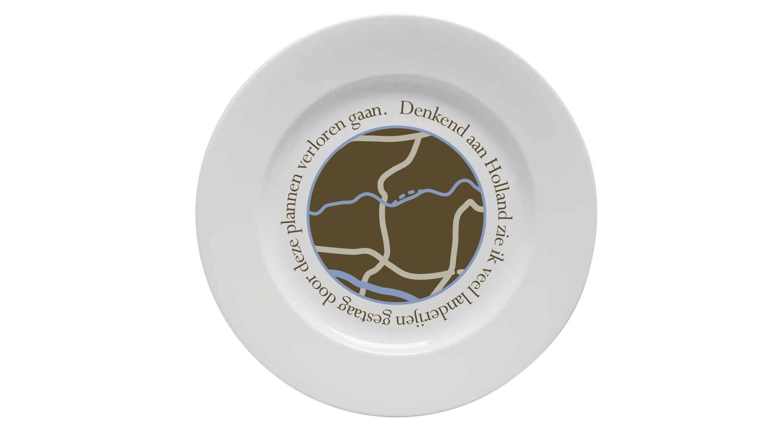 LandRaad Ontbijtbord 4