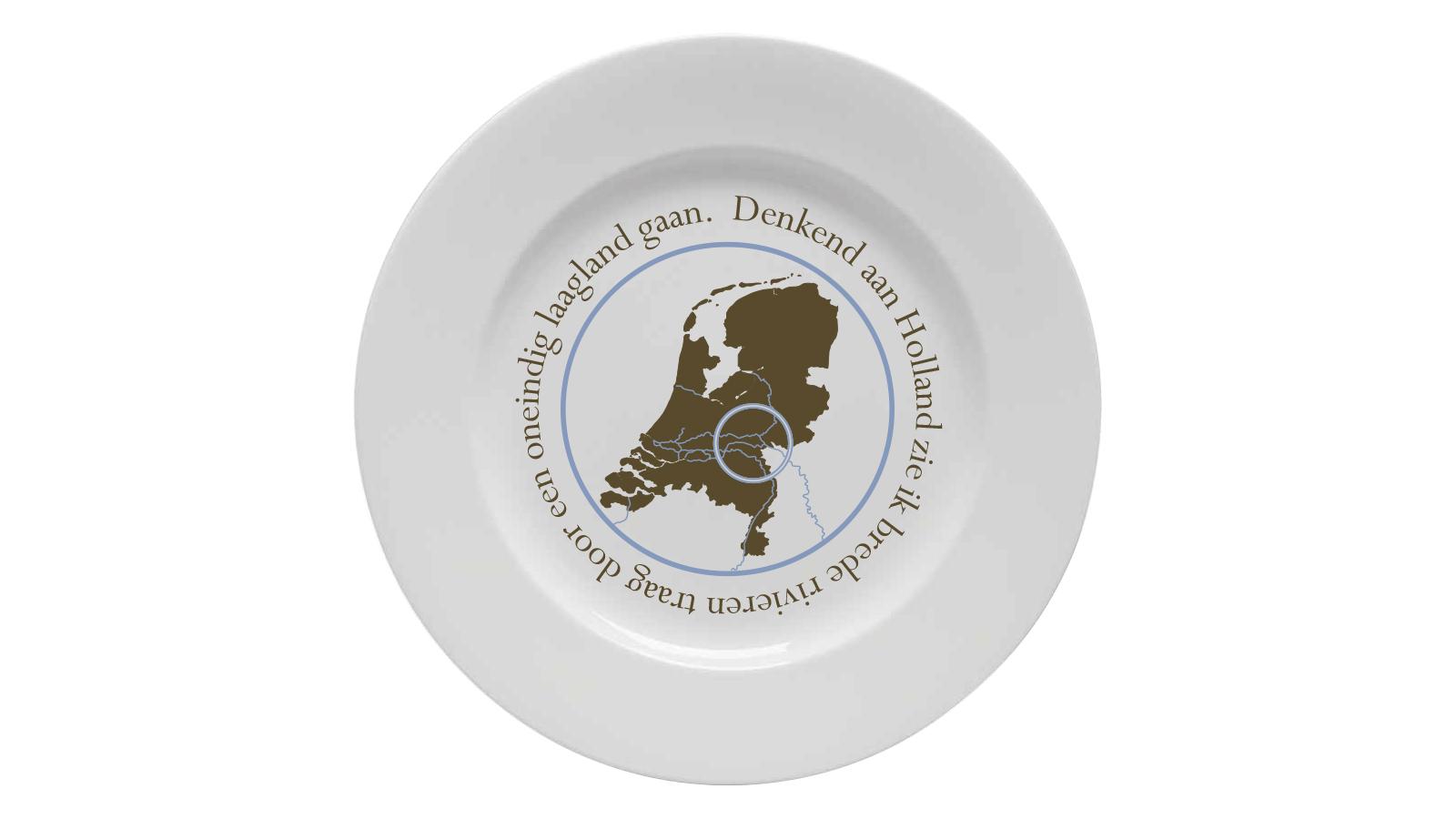 LandRaad Ontbijtbord 1