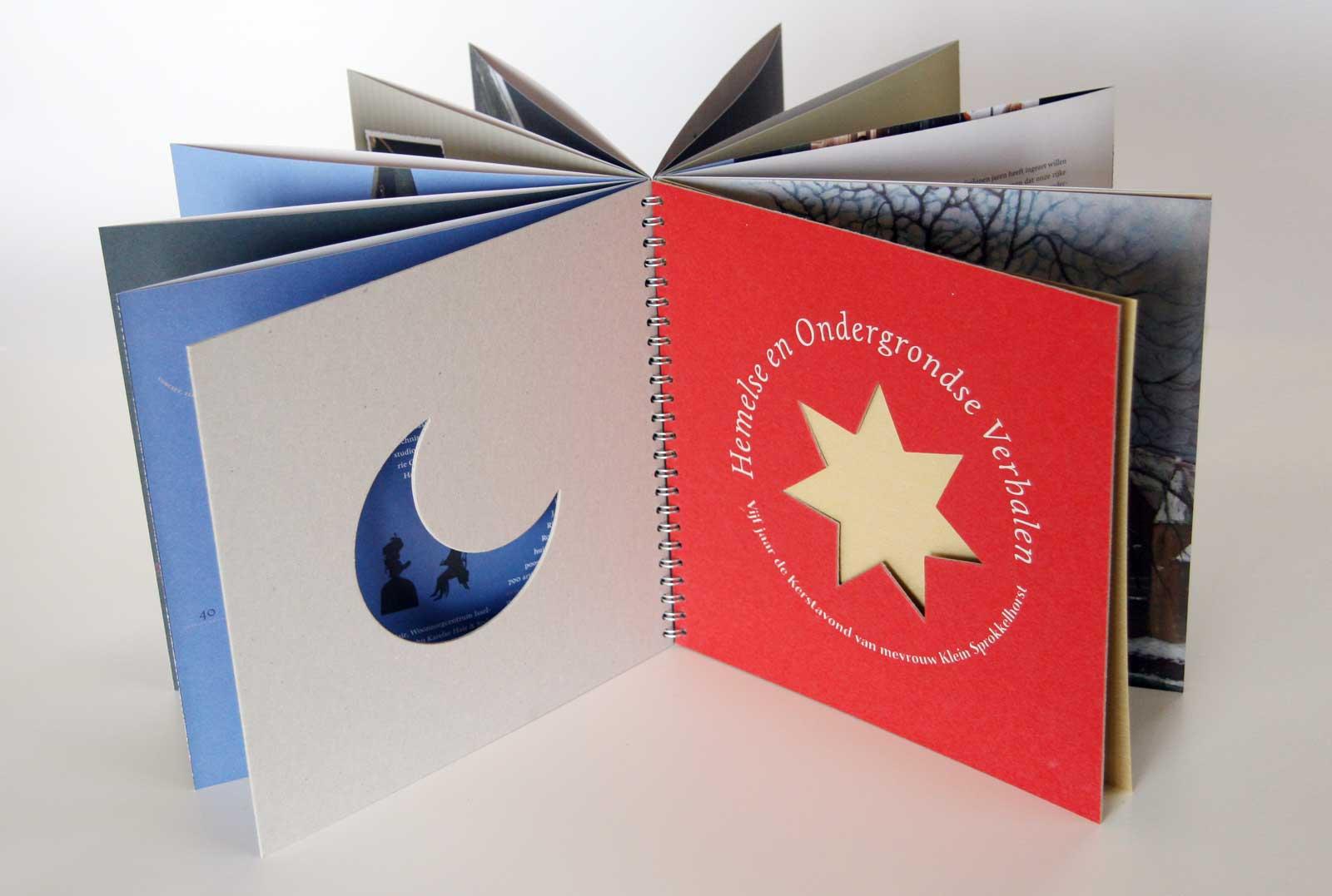 Sprokkelhorst uitgave met uitgestanste vormen uit voor- en achterplat
