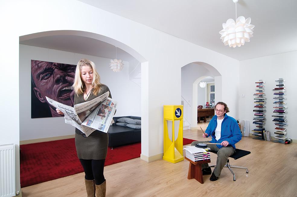 Foto interieur van door Stadsherstel verhuurde woning. Foto: Allard Willemse