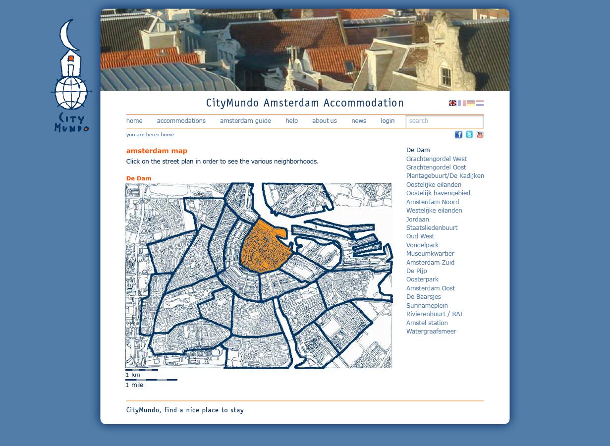 Ontwerp website CityMundo