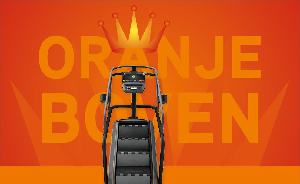 Campagne Oranje Boven ankeiler