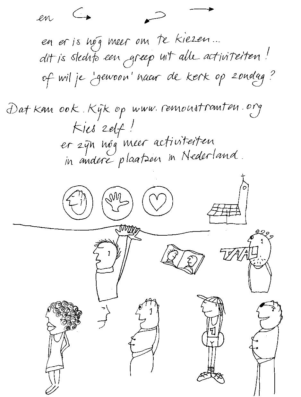 Remonstranten Geloof begint bij jou_tekening schetsen