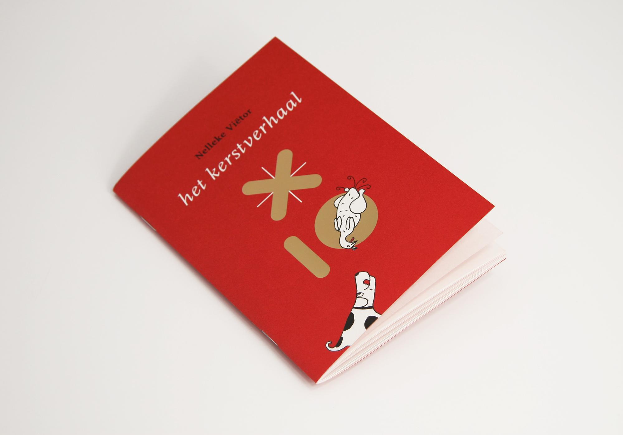 Het Kerstverhaal rode versie cover ankeiler