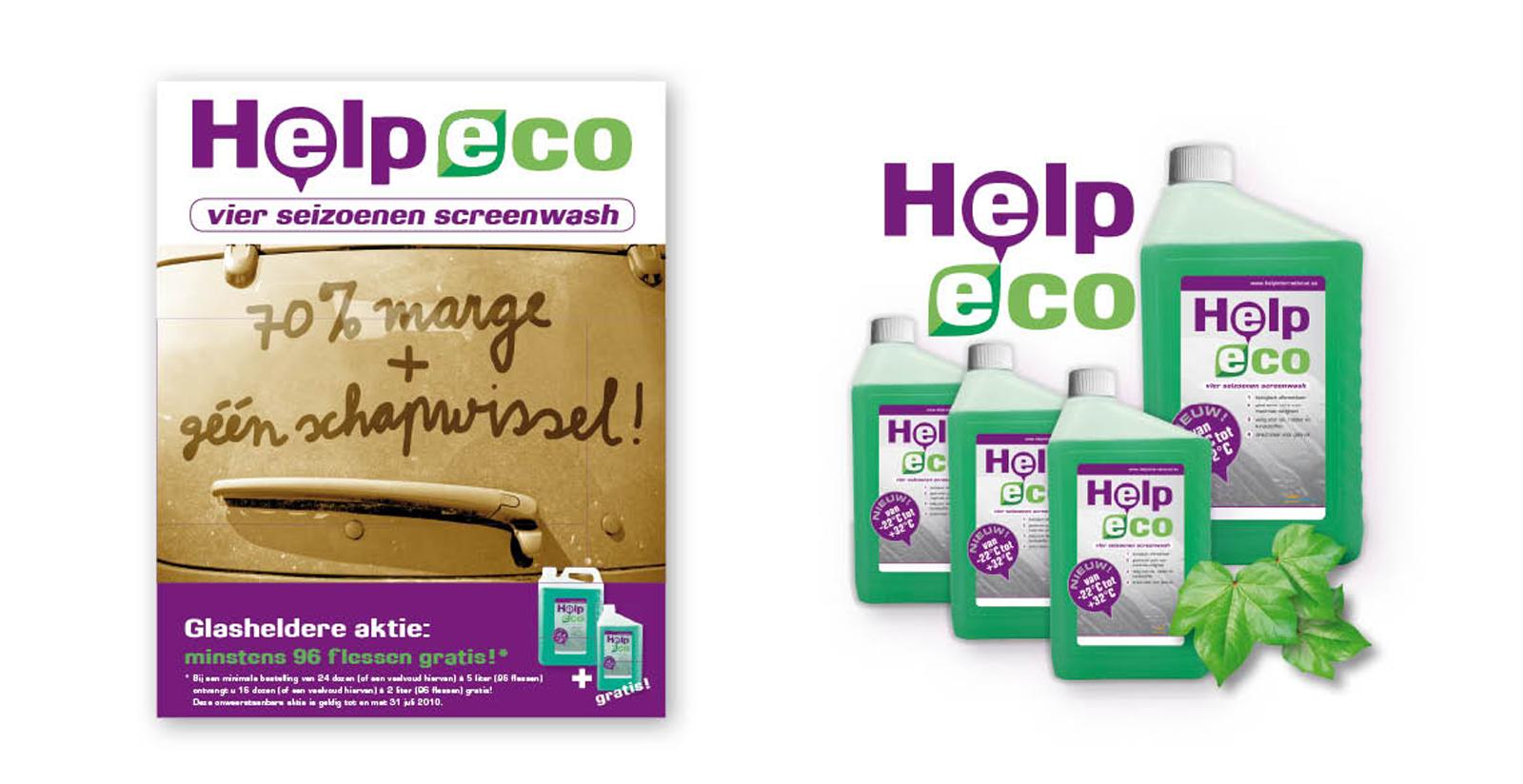 Help Eco: milieuvriendelijke sproeivloeistof