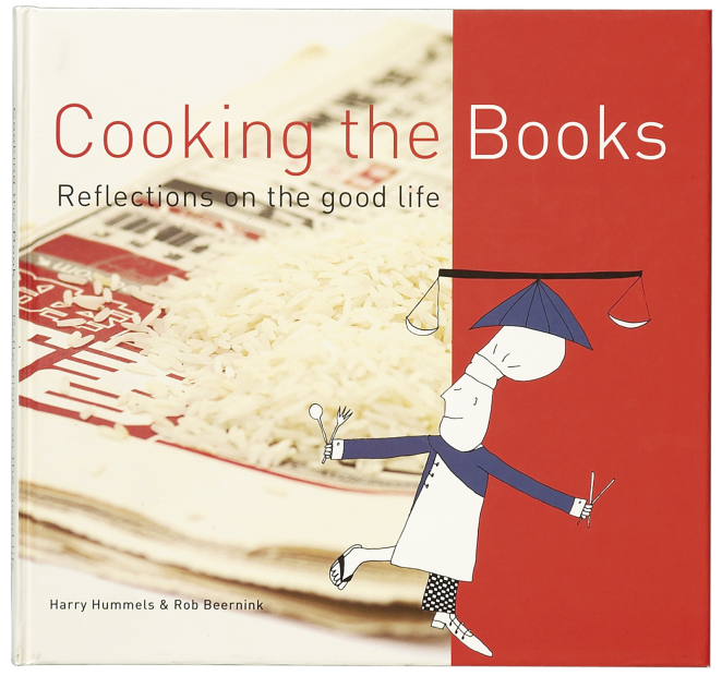 'Cooking the Books' omslag