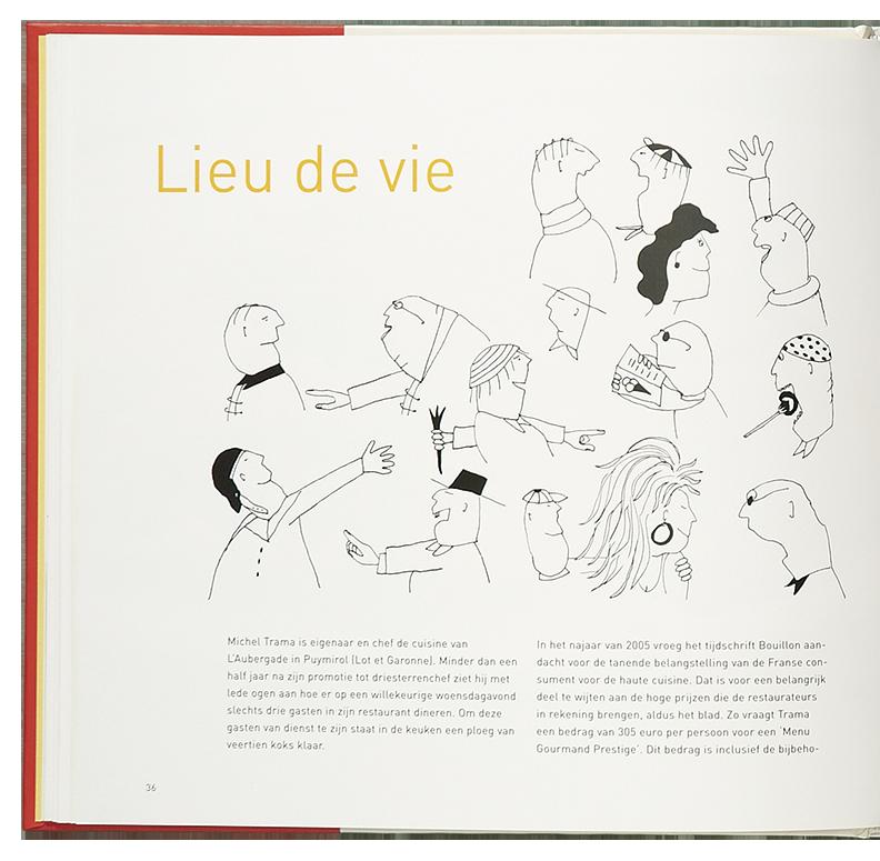 'Cooking the Books' illustratie 'Lieu de Vie'
