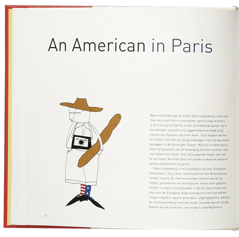 'Cooking the Books' illustratie 'An American in Paris'