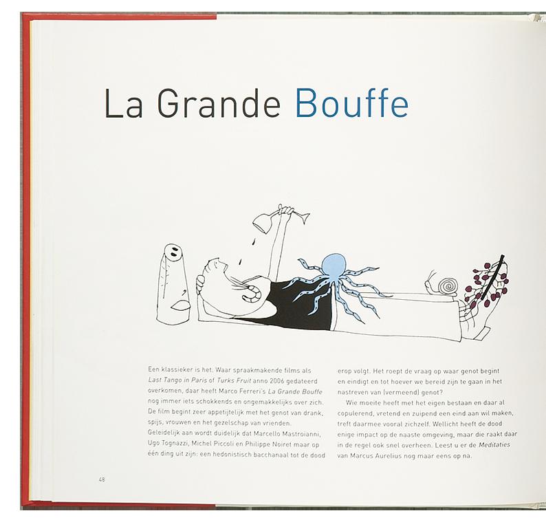 'Cooking the Books' illustratie 'La Grande Bouffe'