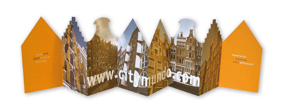 CityMundo huisjesfolder fotozijde