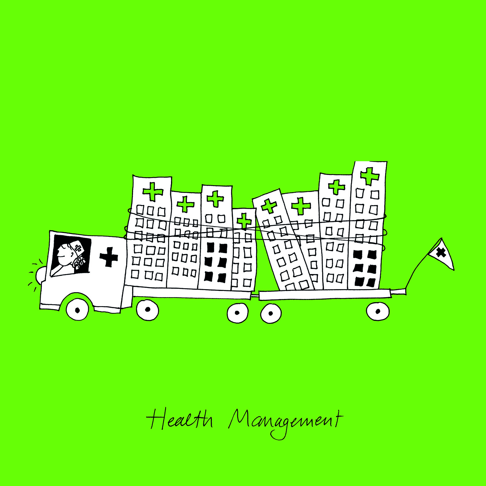 Illustratie: 'Health Management'