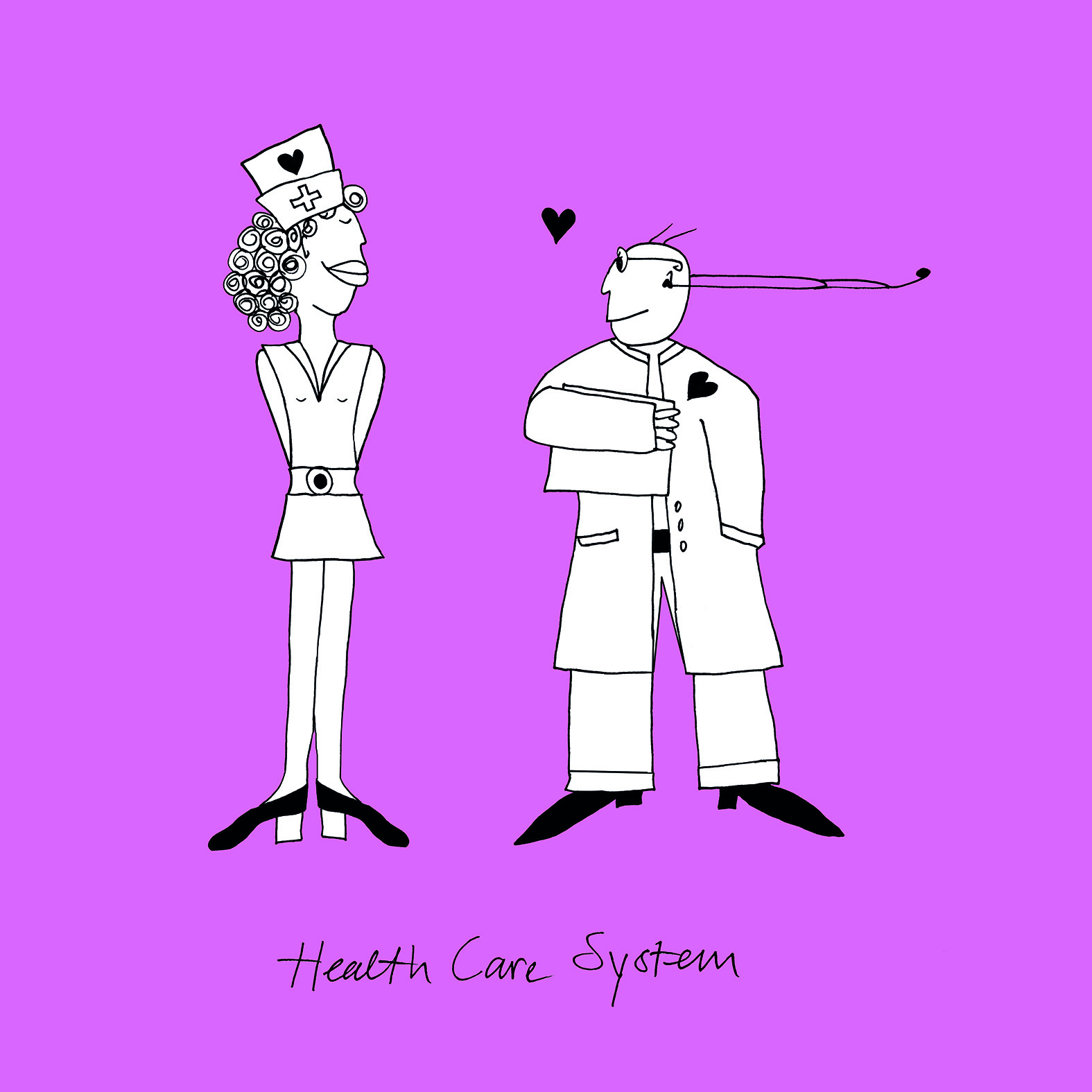 Illustratie: 'Health Care System'
