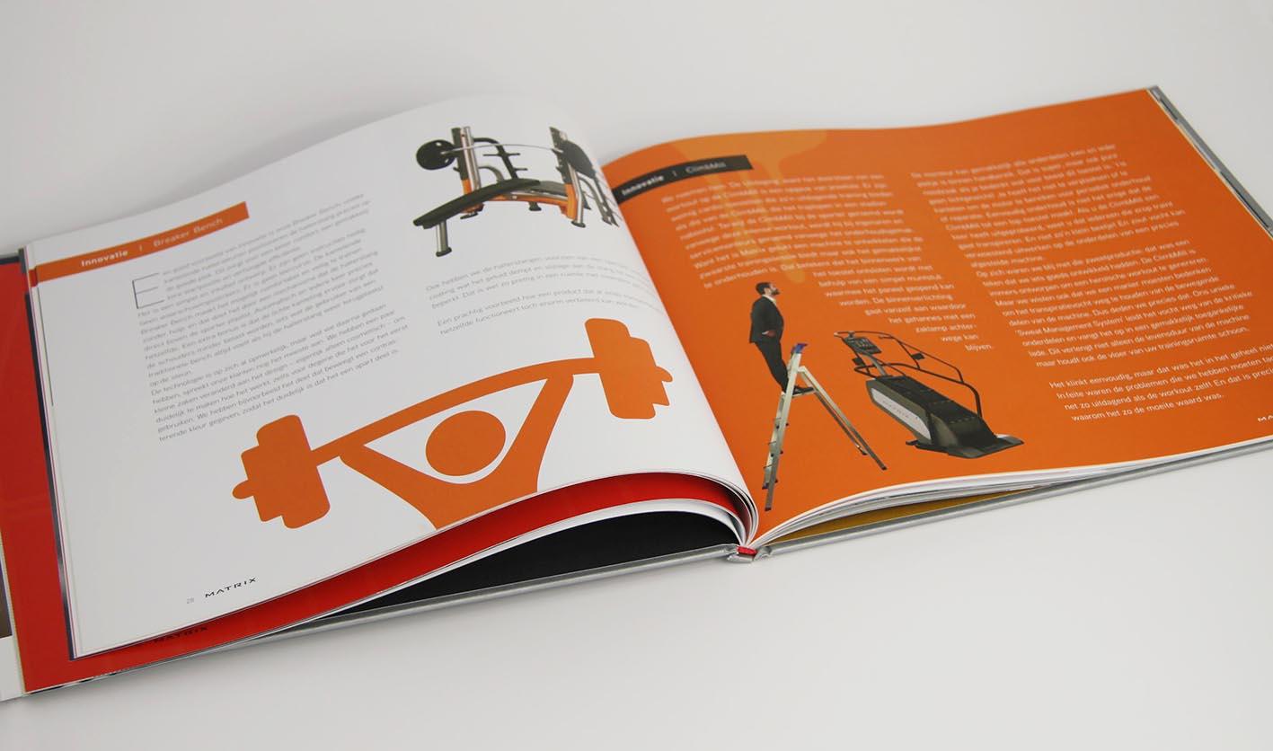 Matrix Corporate brochure hoofdstuk R&D