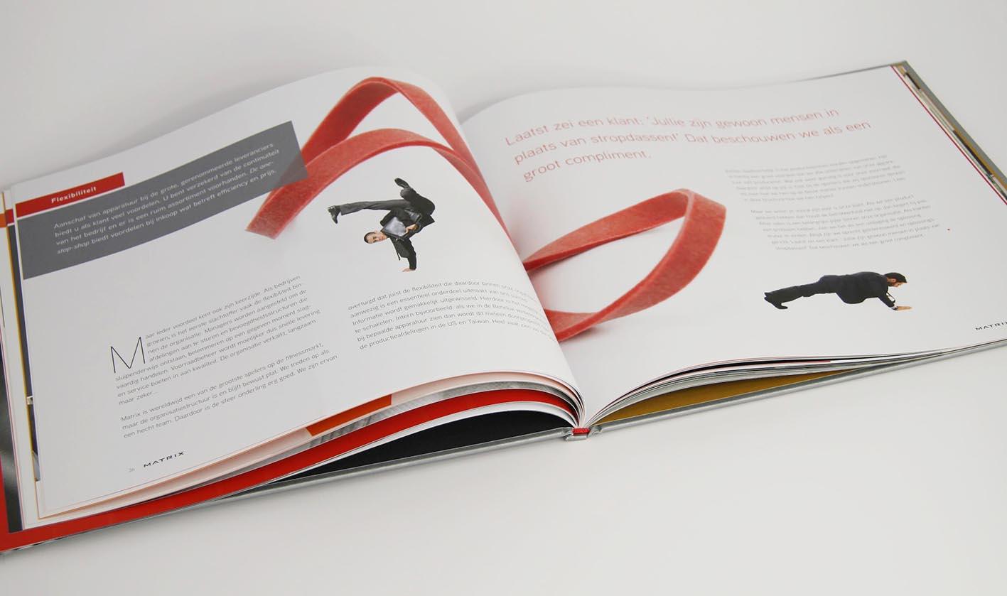 Matrix Corporate brochure hoofdstuk flexibiliteit
