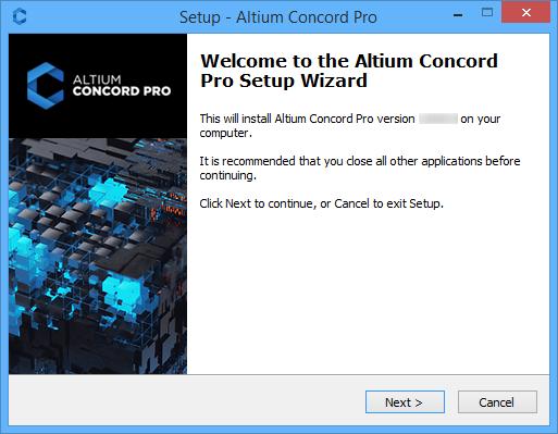 Altium Concord Pro мастер установки