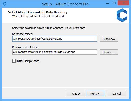 Altium Concord Pro настройка базы данных