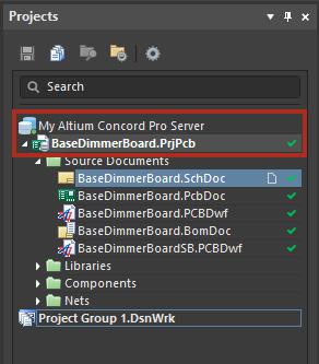 Altium Concord Pro перенос проекта