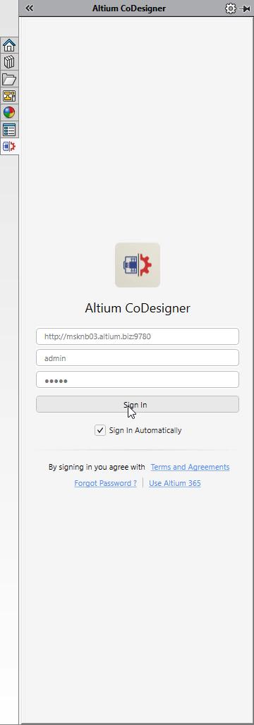 Altium Concord Pro запуск Altium CoDesigner