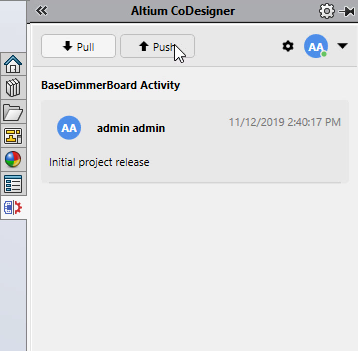 Altium Concord Pro добавление комментариев CoDesigner
