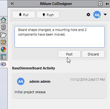 Altium Concord Pro добавление заметок CoDesigner