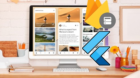 Flutter Firebase Blog App (iOS & Android Complete App 2020)