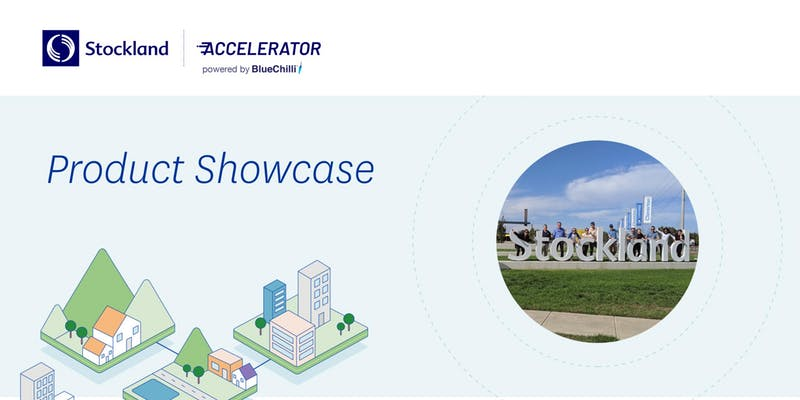 Stockland Accelerator product demo day